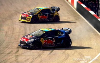 World RX Esports series visits Holjes in Sweden