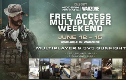 Call of Duty Modern Warfare free multiplayer weekend and Warzone Season 4 update