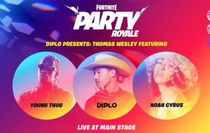 Fortnite Party Royale event time confirmed for this week by Epic Games