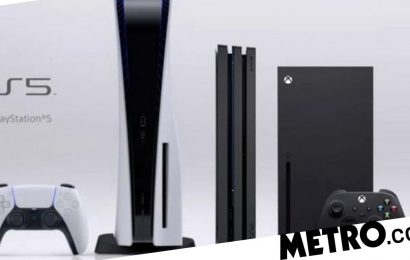 PS5 bigger and taller than Xbox Series X according to fans