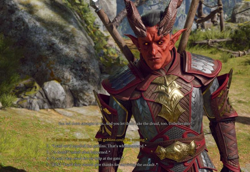 Baldur's Gate 3 Gameplay Revealed, Early Access Planned For August