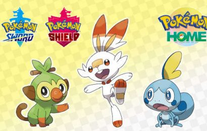 Pokemon Sword And Shield: Free Galar Starters Now Available Via Pokemon Home