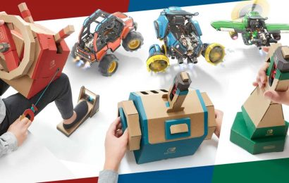 Nintendo Labo's Coolest Kits Are Steeply Discounted At Amazon