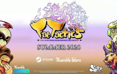 Fae Tactics Announced At PC Gaming Show With A Release Date Of Summer 2020