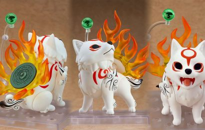 This New Okami Nendoroid Is Too Cute To Handle