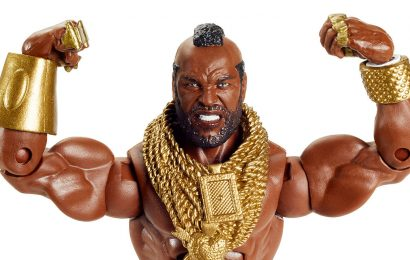 Comic-Con At Home: Mr. T Gets A WWE Elite Collection Action Figure