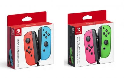 Nintendo Switch Joy-Cons Back In Stock At Amazon, Target, And GameStop
