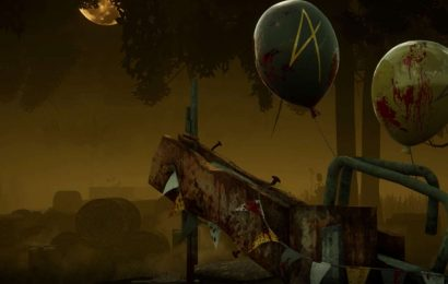 Dead By Daylight Is Celebrating Its 4th Birthday With Balloons, Crowns, Presents, And Bloody Hooks