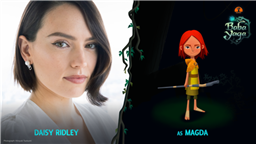 Star Wars' Daisy Ridley to Play Lead in Baobab Studios' Baba Yaga
