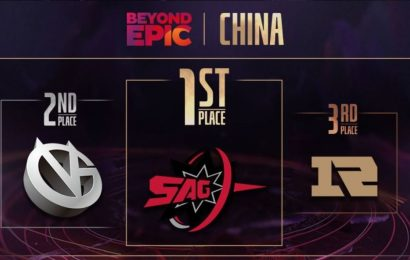 Sparking Arrow Gaming are China's Beyond Epic Champions