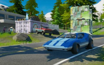 Where are the driveable cars in Fortnite Chapter 2 – Season 3?