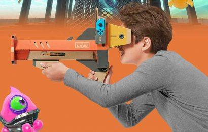 Nintendo's Labo VR Blaster Starter Kit Now Only $20 For Limited Time – Road to VR