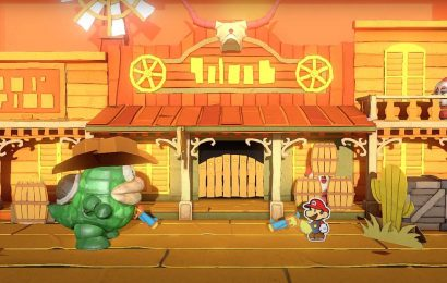 Paper Mario: The Origami King video explains how Mario will fight office supplies