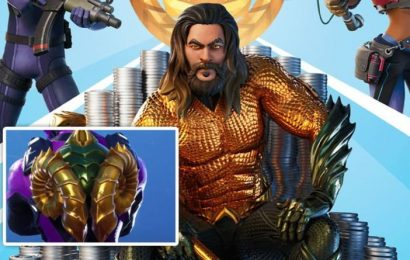 Fortnite Aquaman Backbling: How to complete Dirty Docks Swimming Time Trial challenge