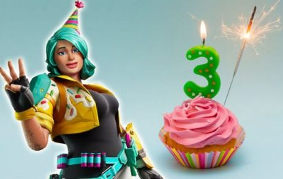 Fortnite birthday: When is Fortnite birthday? Start time, date, 3rd birthday event rewards