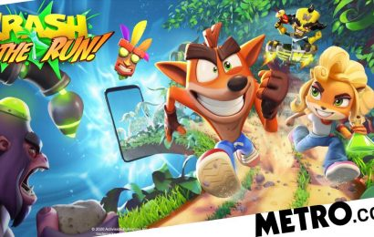 Crash Bandicoot: On The Run mobile game is pretty nice looking endless runner