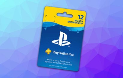 12 Months Of PlayStation Plus On Sale For Just $33