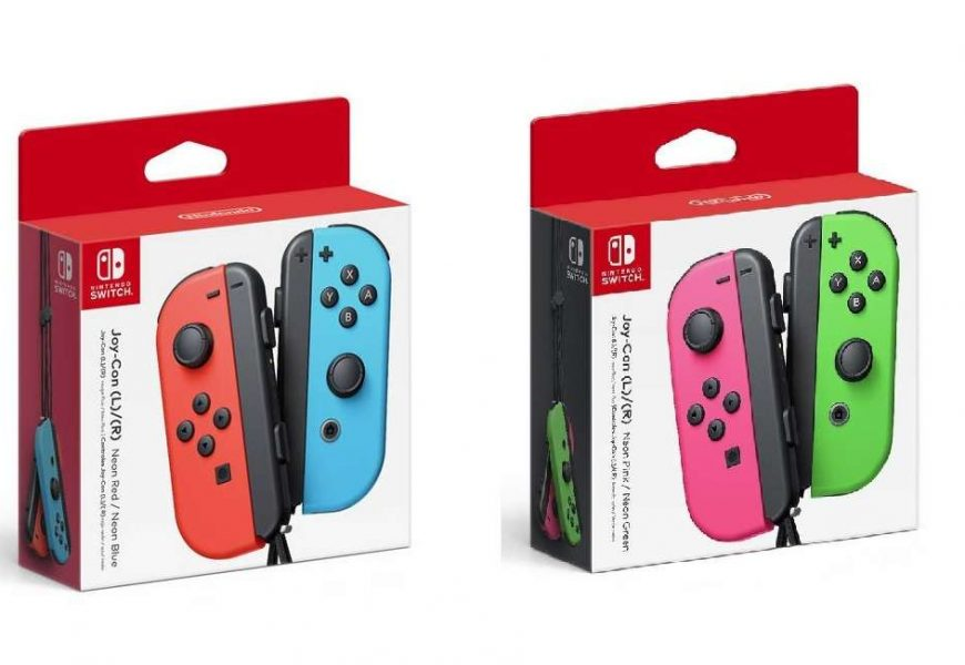 Nintendo Switch Joy-Cons Are In Stock At Amazon, GameStop, And Target