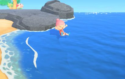 Here's How Swimming Works In Animal Crossing: New Horizons