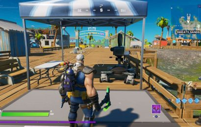 Fortnite: How To Dance In Front Of The Camera At Sweaty Sands