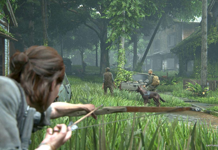 Good News: There's Footage Of A Dog In A Mo-Cap Suit Working On The Last Of Us Part 2