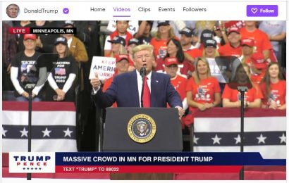 Twitch Unbans President Trump After Two Week Suspension