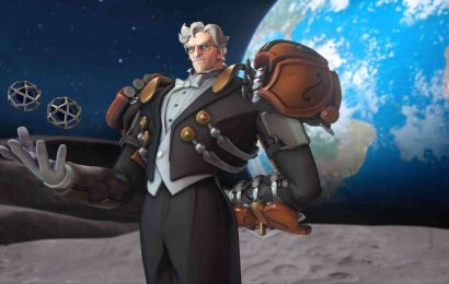 Overwatch Adds A New Legendary Skin With Sigma's Maestro Challenge