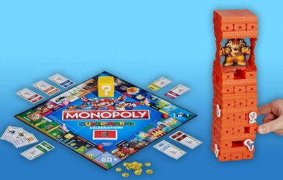 Super Mario 35th Anniversary Brings Mario Monopoly And Jenga Versions