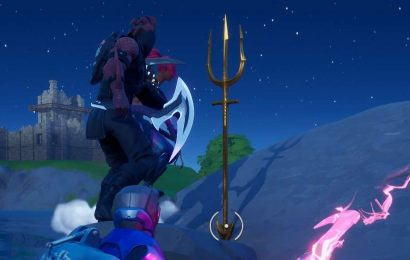 Fortnite: How To Get Aquaman's Trident At Coral Cove