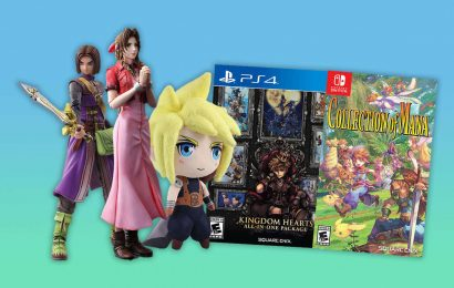 Square Enix Summer Sale Lets You Save On Final Fantasy, Dragon Quest Merch