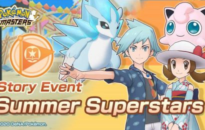 Pokemon Masters Latest Event, Summer Superstars, Is Live