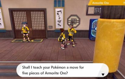 How to collect and use Armorite Ore on Pokémon's Isle of Armor