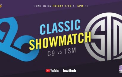 TSM and Cloud9, to play a Classic Showmatch with 2013 iconic players