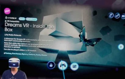 Watch 'Dreams' Upcoming VR Mode in Action Before It Releases Tomorrow – Road to VR