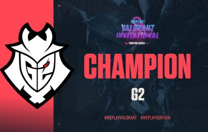 The Valorant WePlay! Winner is G2 Esports, Sweeping the Final 2-0