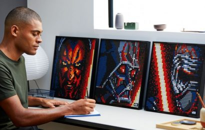 Lego Invites You To Build Star Wars Art