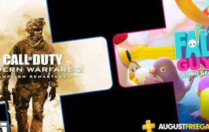 Modern Warfare 2 Remastered and Fall Guys announced for PS+ August games lineup