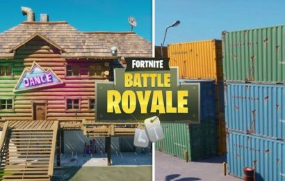 Fortnite Apres Ski dance floor, Collect Fireflies and ALL Week 10 challenges SOLVED