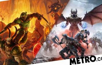 Doom Eternal and Elder Scrolls Online coming to PS5 and Series X as free updates