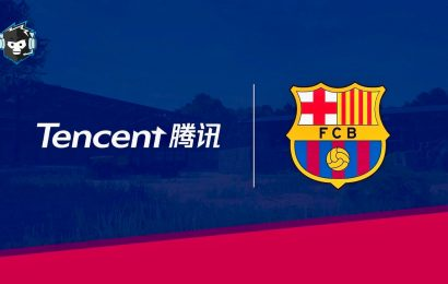 Barcelona FC Signs Esports Collaboration With Tencent