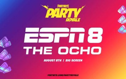 Fortnite Battle Royale Screening ESPN 8: The Ocho This Weekend