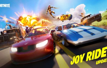 Fortnite Joy Ride Update Adds Cars And Trucks, Available Now