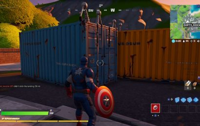 Fortnite Week 10 Guide: Destroy Shipping Containers At Dirty Docks