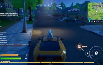 Fortnite: Driving From Retail Row To Pleasant Park In Less Than 4 Minutes Guide