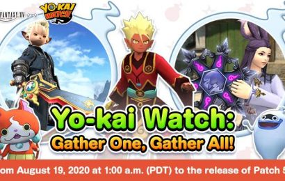 Final Fantasy 14's Next Event Is A Yo-Kai Watch Collaboration