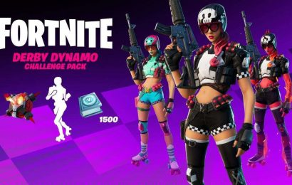 Fortnite Adds New Challenges With V-Buck Rewards In $12 Derby Dynamo Pack