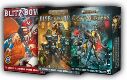 Games Workshop To Release New Warhammer And Blitz Bowl Board Games