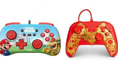 Celebrate Mario's 35th Anniversary With Two Cool Nintendo Switch Controllers