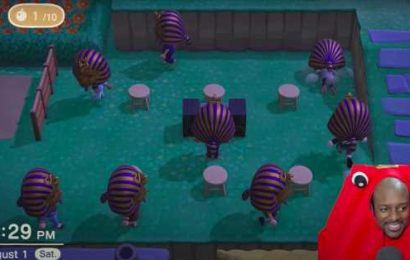 Animal Crossing fans are playing King Tut minigames