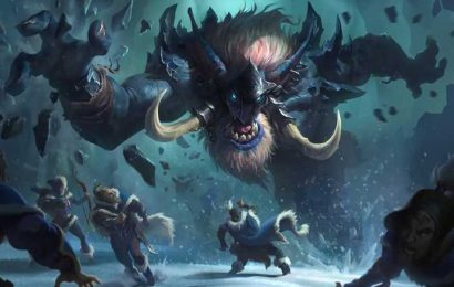 New keyword Behold and 6 Freljord Troll cards join Legends of Runeterra Call of the Mountain expansion